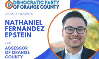 Democratic Party of Orange County Endorses Nathaniel F. Epstein for OC Assessor